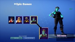 My Fortnite Account Merge! OVER THE 1000 items!