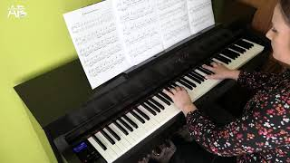 Christina Perri - A Thousand Years   Adelina Piano cover видео