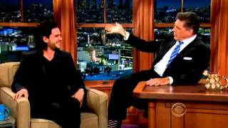 Kit Harington ~ The Late Late Show {with Craig Ferguson}