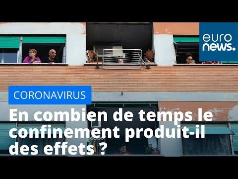Coronavirus: en combien de temps le confinement produit-il des effets ?