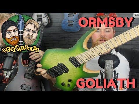 Ormsby Goliath #GuitArsoles Podcast 13 - Headless Guitar Club