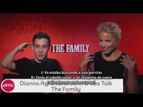 Entrevista Dianna Agron and John D'Leo para AMC