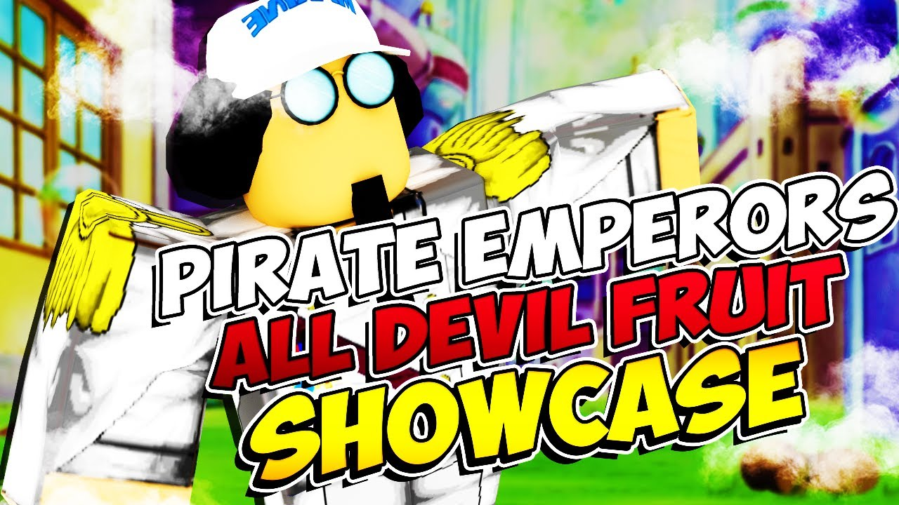 NEW ONE PIECE GAME   ALL DEVIL FRUITS SHOWCASE   ALL WEAPON SKILL SHOWCASE