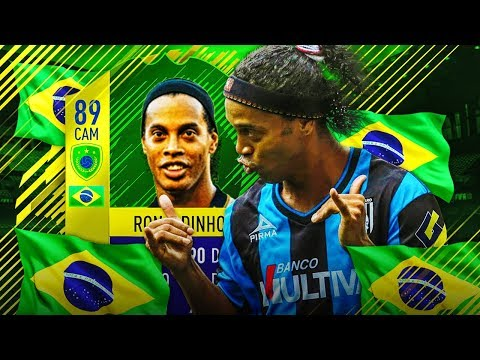 GENIALNA IKONA RONALDINHO! FIFA 18 ULTIMATE TEAM