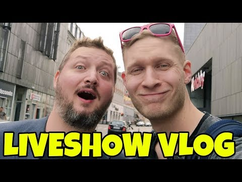PÅ TURNÉ MED COMKEAN! - Liveshow Vlog #1