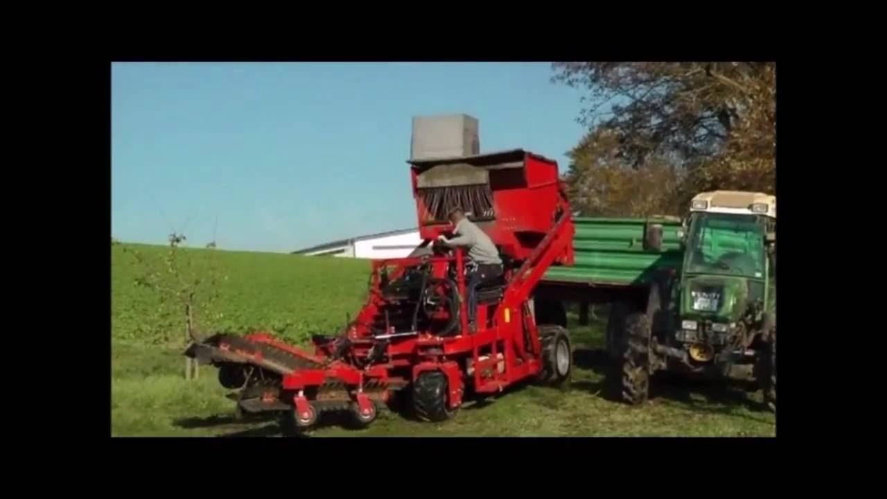 Feucht-Obsttechnik - OB FUTURE II Fallen Fruit Harvesting Machine (2)
