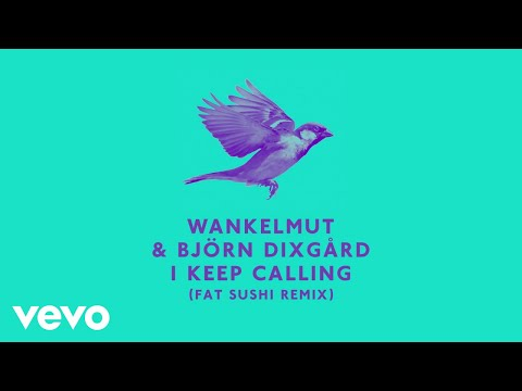 Wankelmut, Björn Dixgård - I Keep Calling (Fat Sushi Remix)