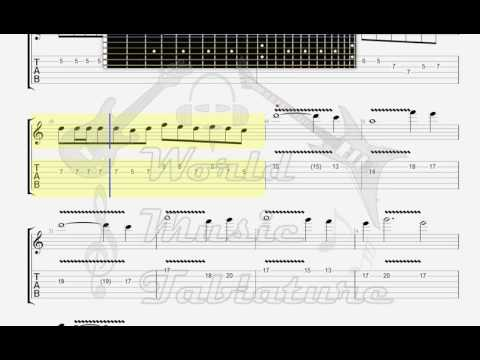 Edelman, Randy   The Last Of The Mohicans GUITAR 1 TAB