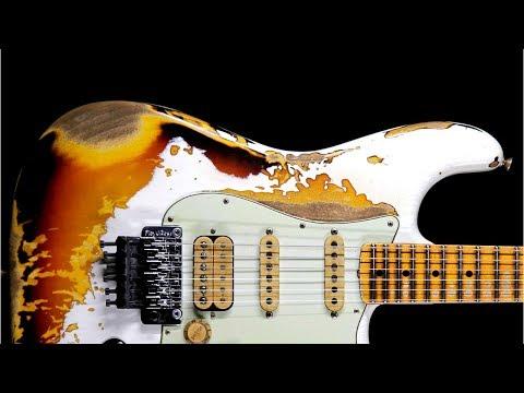 Dark Blues Ballad Guitar Backing Track Jam in D Minor