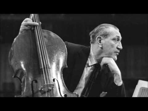 Bloch - Schelomo - Piatigorsky / Boston / Munch