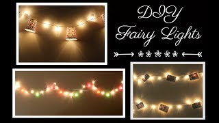 fairy lights background