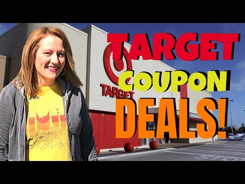 TARGET COUPON DEALS (3/8 – 3/14) FREEBIES, Grocery Deals, Cheap Razors & More!
