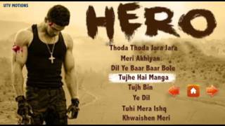 Hero Movie Songs   Audio Jukebox   Sooraj Pancholi   Salman Khan   Athiya Shetty