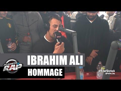 Hommage à Ibrahim Ali #PlanèteRap
