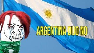 Argentina dijo NO a la ley del aborto