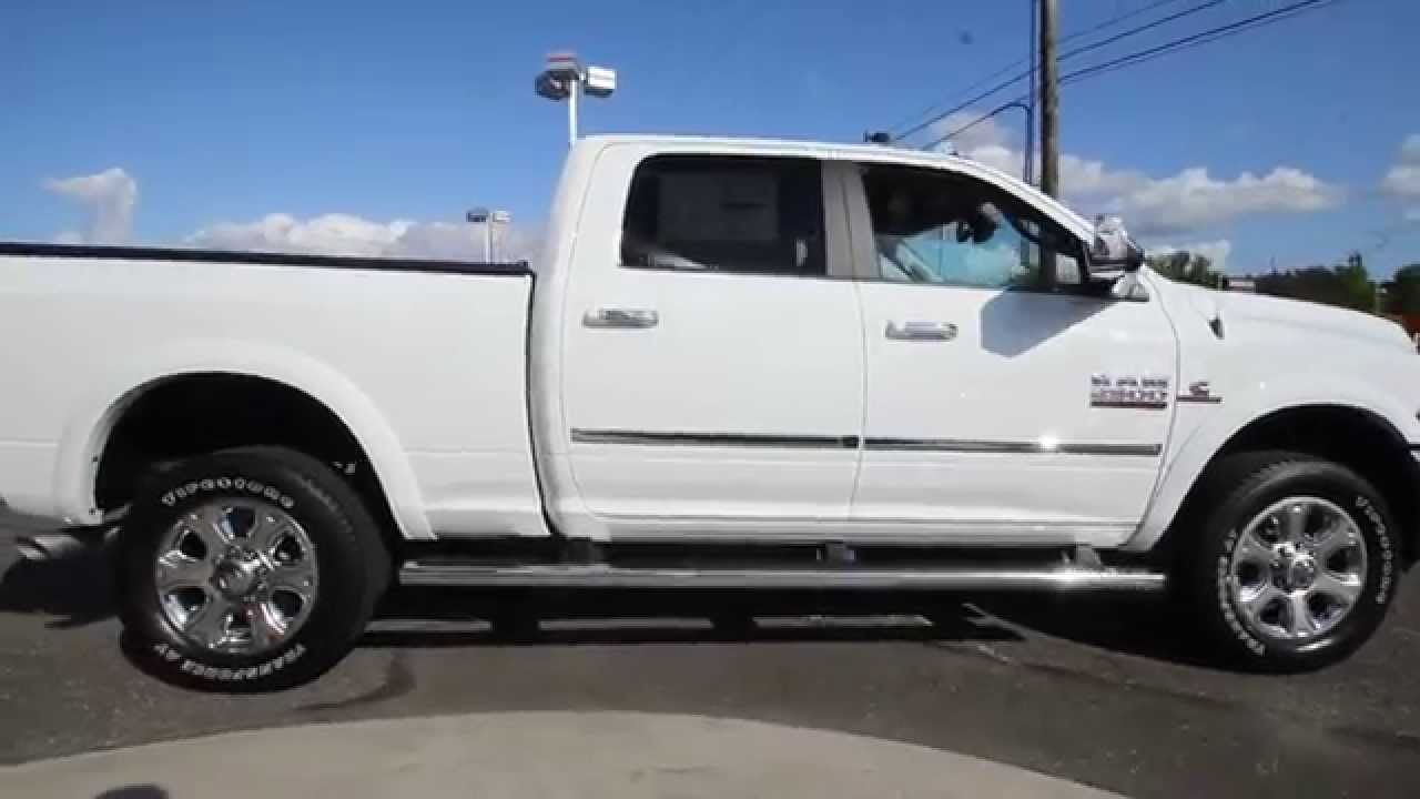2014 dodge ram 2500 laramie limited white eg206041 mt vernon skagit youtube. Black Bedroom Furniture Sets. Home Design Ideas