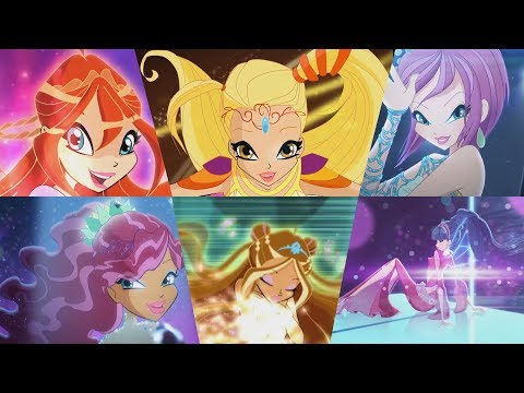 Winx Club - All Transformations up to Onyrix English HD!