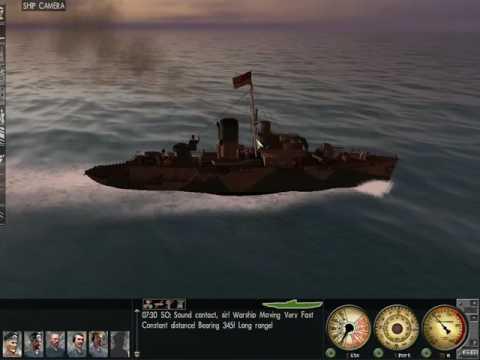 Silent Hunter 3 getting across the strait of gibraltar