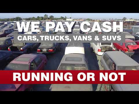 We Pay Cash For Junk Cars At IPull-uPull Auto Parts