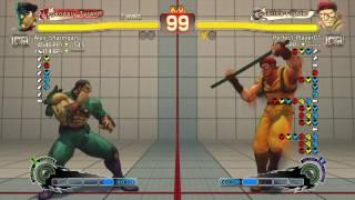 Ultra Street Fighter IV battle: M. Bison vs Rolento
