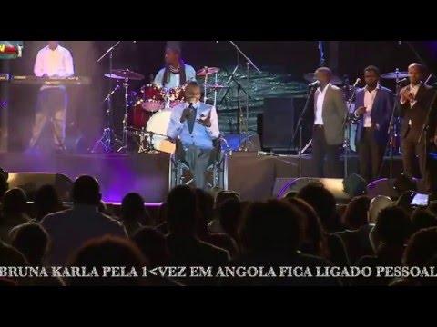 VEJA SHOW GOSPEL COMPLETO DE BRUNA KARLA PELA PRIMEIRA VEZ EM ANGOLA