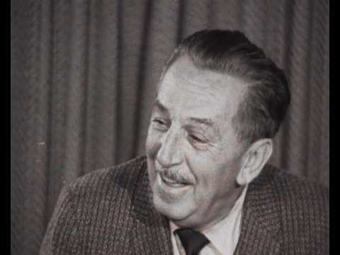 Walt Disney interview