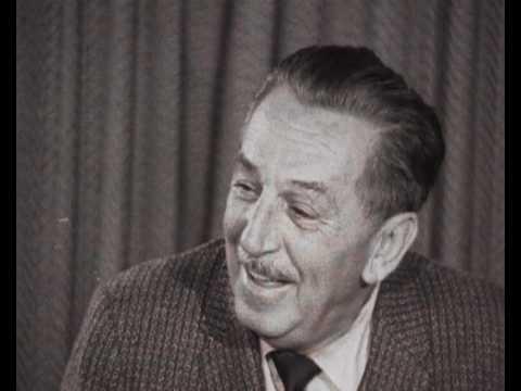 Walt Disney interview - YouTube