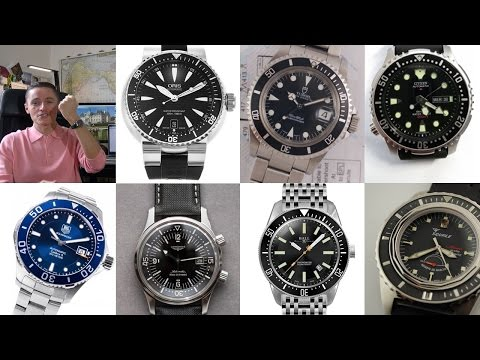 Top 10 Best Automatic Dive Watches Part II - The Most Underrated - Citizen, Glycine, Tudor & More!