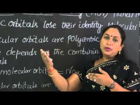 Class 11/I PUC Chemistry Episode-01 M.O.T (Molecular orbital theory)
