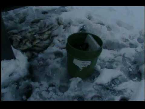 Ice fishing indiana youtube for Ice fishing indiana