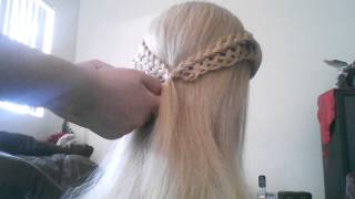 Bridal hairstyle tutorial ;) part 1