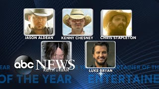 2018 CMA Awards nominees for entertainer of the year and more