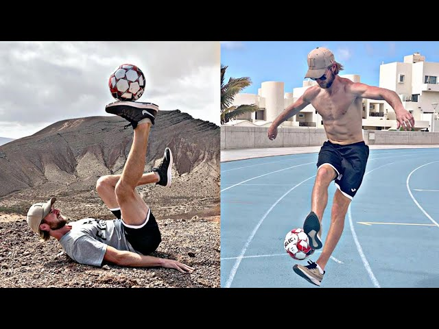 THE FREESTYLE CHAMPION MEN🏅 BRIANMENGEL ⚽ compilation