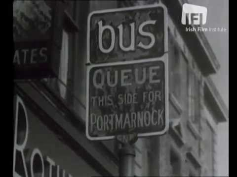 Dublin Road safety movie 1950 .