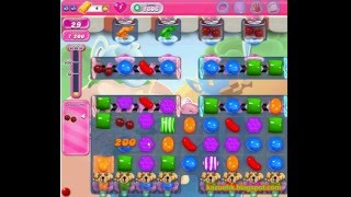 Candy Crush Saga - Level 1606 (No boosters)
