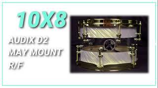 10x8 Hybrid Tom Tom HD Sound Sample