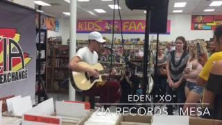 Eden performs