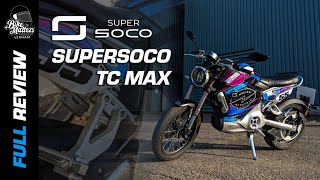 Super Soco TC Max | Electric Motorcycle First Impressions Review!