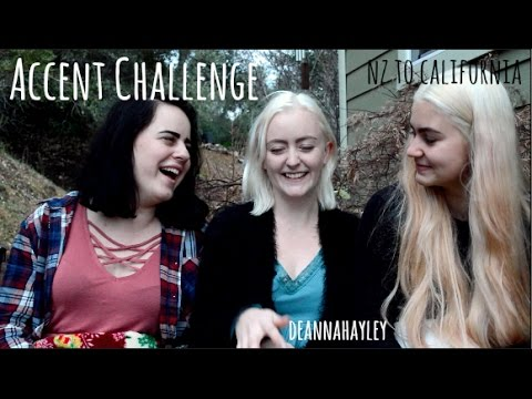 ACCENT CHALLENGE - USA Exchange ♡ New Zealand to California