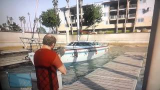 Sinking Boat in GTA V