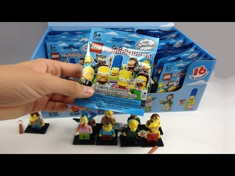 LEGO Minifigures The Simpsons Series - 60 pack BOX opening!