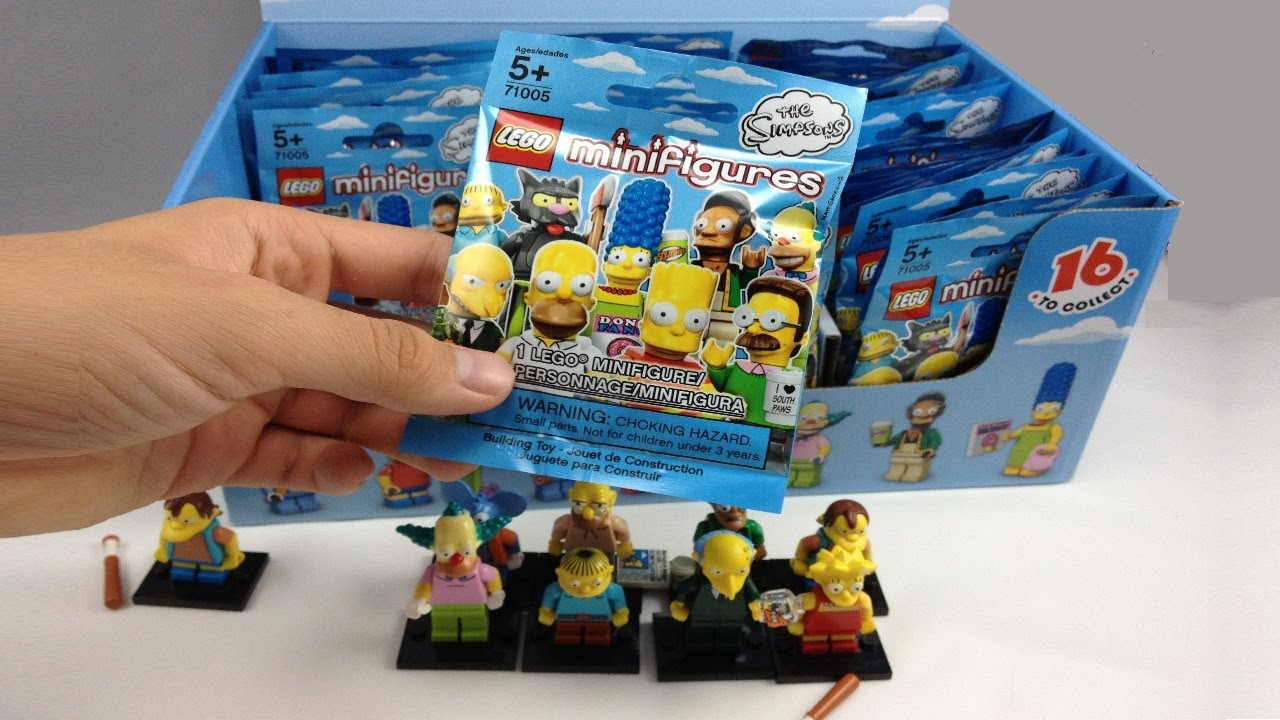 Lego Minifigures The Simpsons Series 60 Pack Box Opening