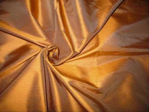 dupioni silk fabric.wmv
