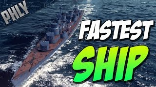 Video World Of Warships- NEW RUSSIAN Tier 10 DESTROYER - KHABAROVSK Gameplay download MP3, 3GP, MP4, WEBM, AVI, FLV Juni 2018