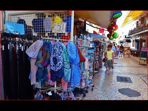 Portugal Algarve, Albufeira Shopping