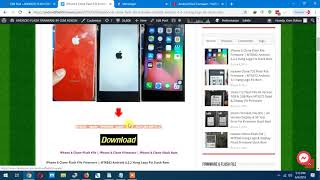 iPhone 8 Clone Flash File Firmware | MT6582 Android 4.2.2 Hang Logo Fix Stock Rom