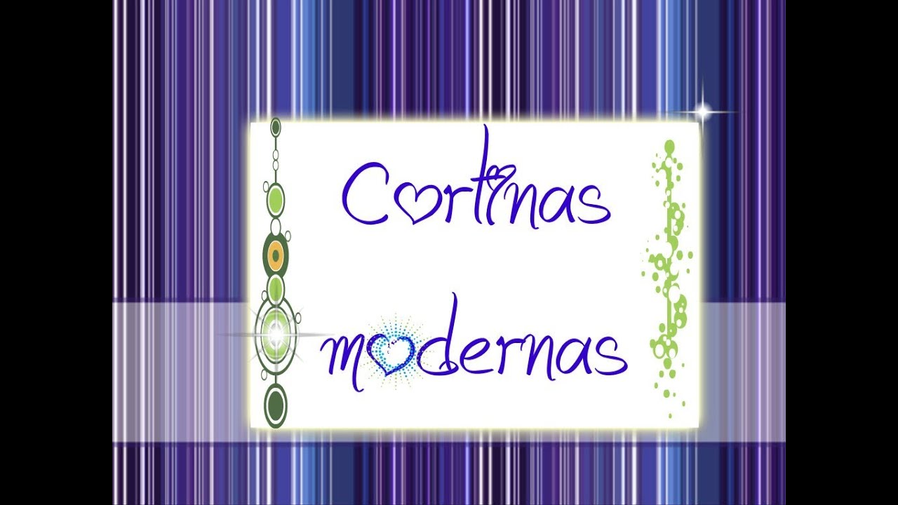 Como hacer cortinas modernas manualidades con mariel for Como hacer cortinas para sala