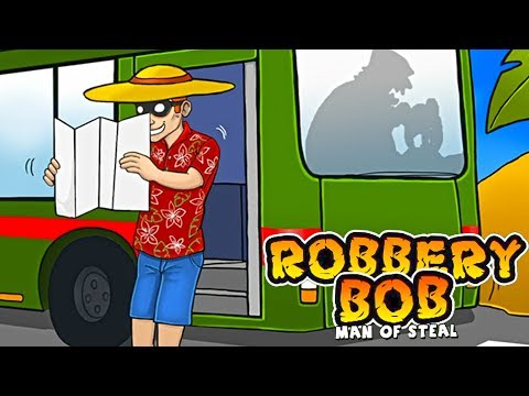 Robbery Bob™ Chapter 3 Secret Labs Level 5-7 The Thief In The Shadow Walkthrough