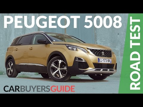 Peugeot 5008 SUV Review 2017