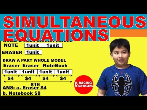 solving-simultaneous-equations-using-the-singapore-math-model